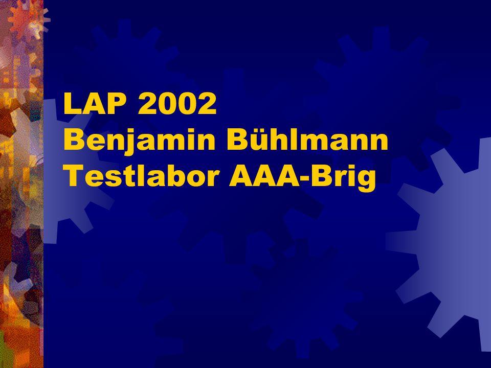 LAP 2002 Benjamin Bühlmann Testlabor AAA-Brig