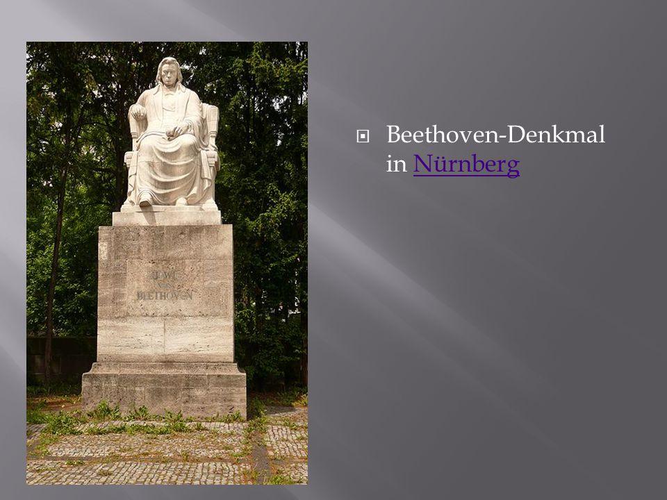 Beethoven-Denkmal in NürnbergNürnberg