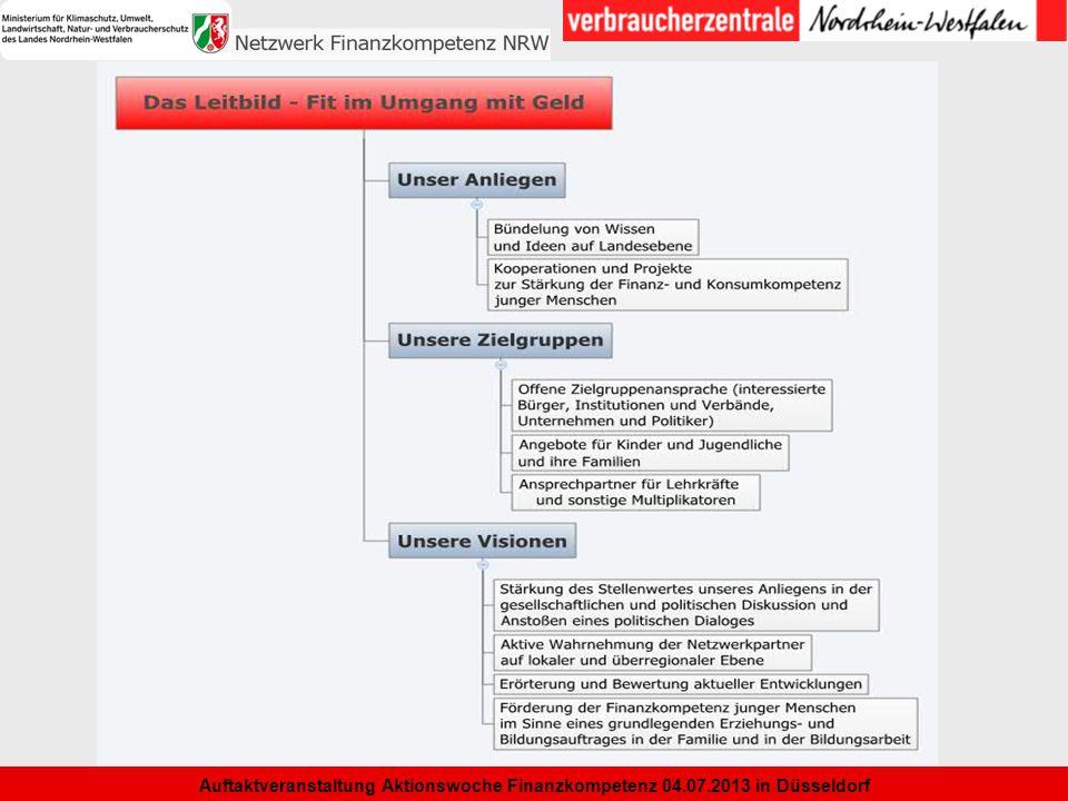 7 Auftaktveranstaltung Aktionswoche Finanzkompetenz 04.07.2013 in Düsseldorf