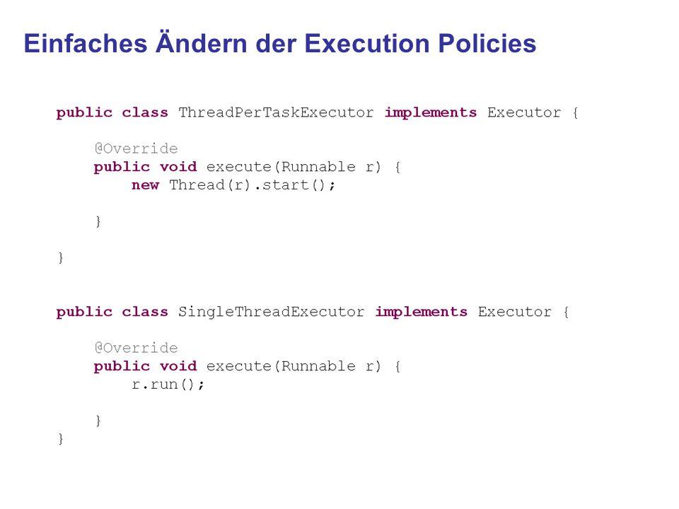 Einfaches Ändern der Execution Policies