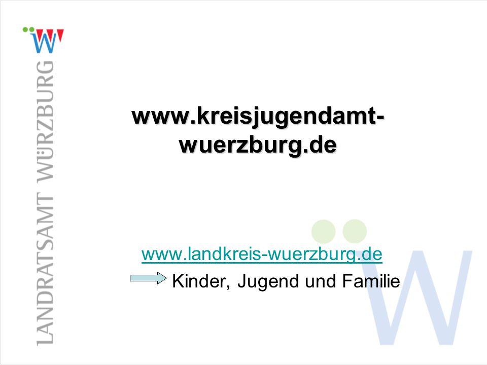 www.kreisjugendamt- wuerzburg.de www.landkreis-wuerzburg.de Kinder, Jugend und Familie