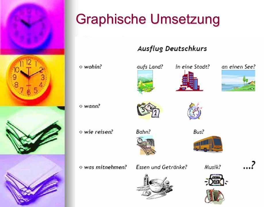 Graphische Umsetzung