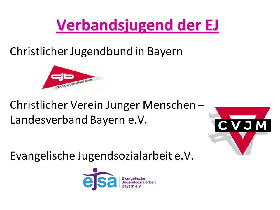 Christlicher Jugendbund in Bayern Christlicher Verein Junger Menschen – Landesverband Bayern e.V. Evangelische Jugendsozialarbeit e.V. Verbandsjugend