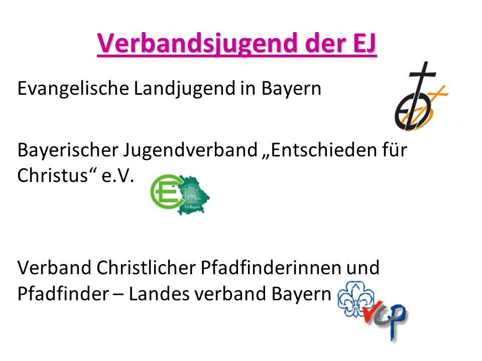 """Evangelische Landjugend in Bayern Bayerischer Jugendverband """"Entschieden für Christus"""" e.V. Verband Christlicher Pfadfinderinnen und Pfadfinder – Land"""