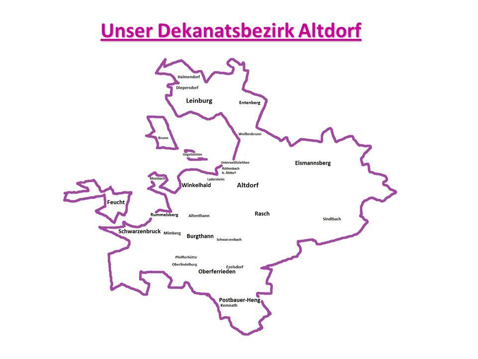 Unser Dekanatsbezirk Altdorf
