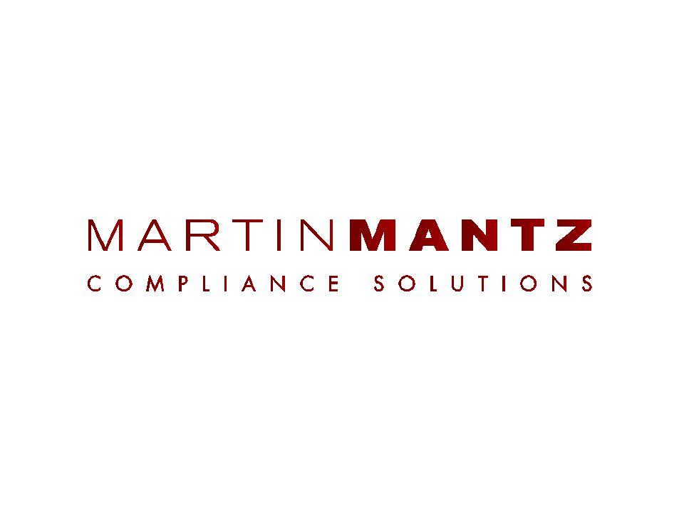 Verantwortung des GmbH- Geschäftsführers Organisationsverantwortung Pflichten delegieren Muster eines Delegationsschreibens Marin Mantz Compliance Solutions // www.martin-mantz.de // August 2014