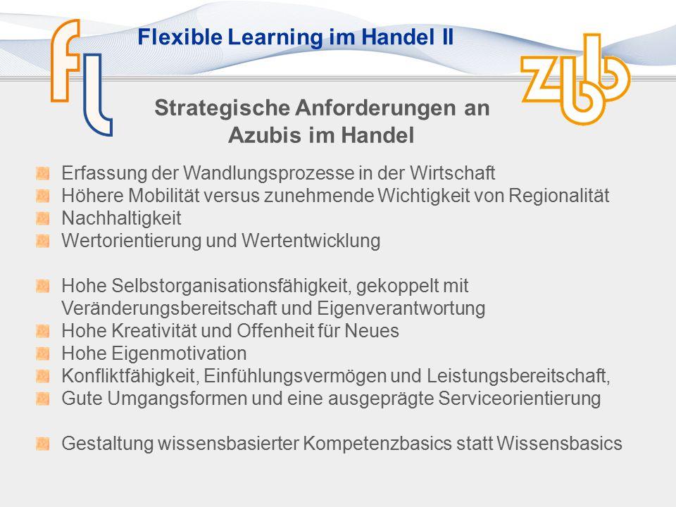 Flexible Learning im Handel II Kompetenzatlas