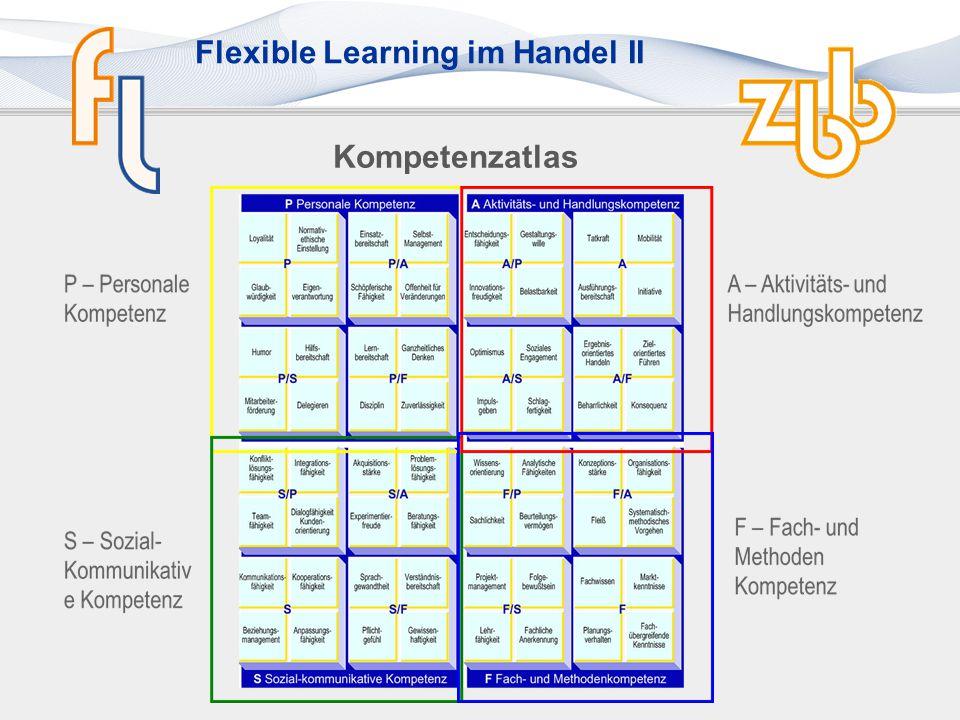 Flexible Learning im Handel II Kompetenzmodell Handel