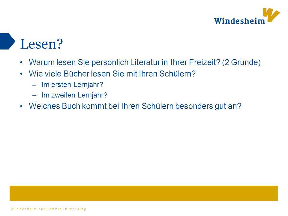 Windesheim zet kennis in werking Wo kann man Bücher leihen.