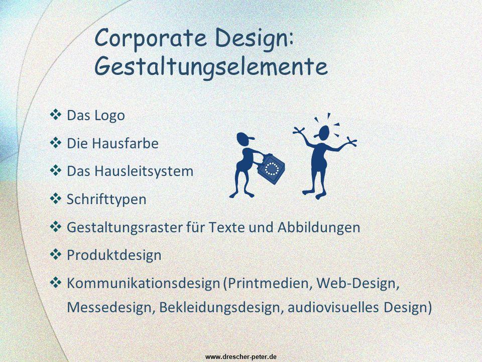 Corporate Design: Gestaltungselemente  Das Logo  Die Hausfarbe  Das Hausleitsystem  Schrifttypen  Gestaltungsraster für Texte und Abbildungen  P