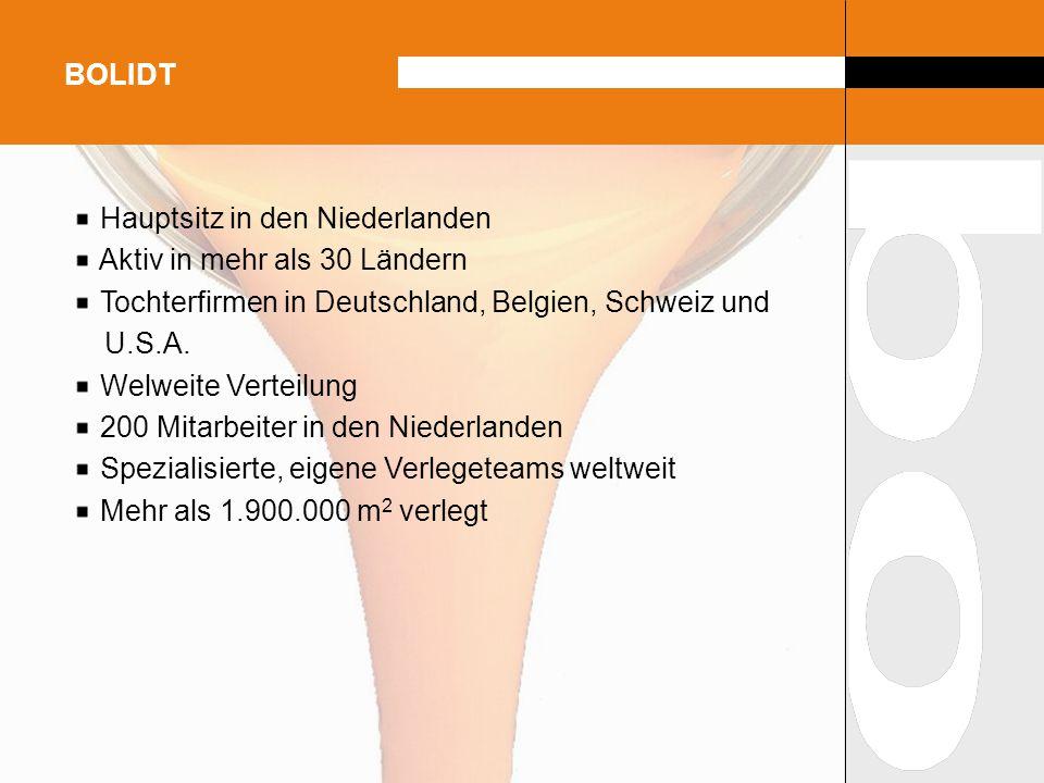 Hauptsitz in den Niederlanden Aktiv in mehr als 30 Ländern Tochterfirmen in Deutschland, Belgien, Schweiz und U.S.A. Welweite Verteilung 200 Mitarbeit