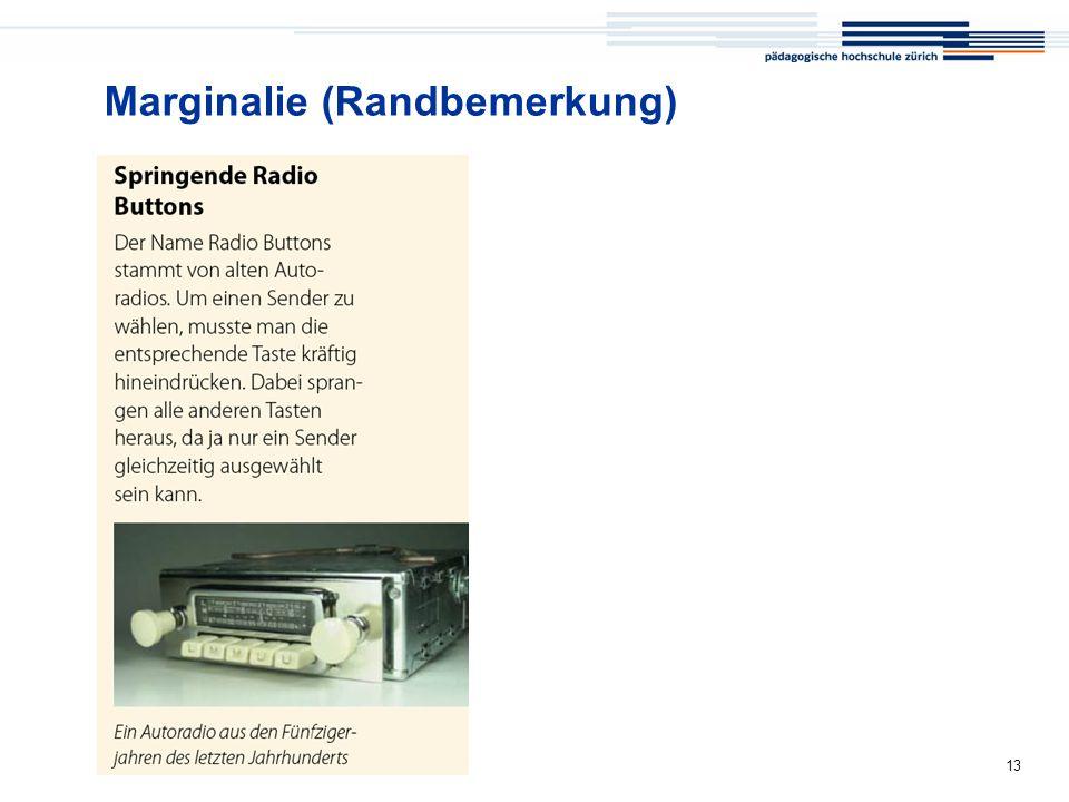 Medienkompass 13 Marginalie (Randbemerkung)