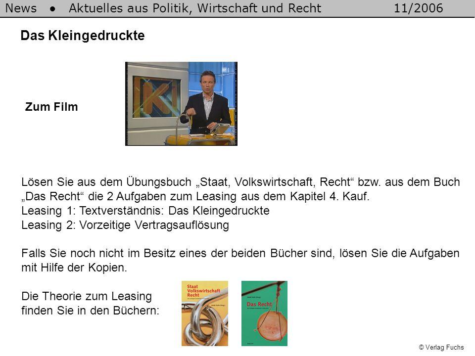 © Verlag Fuchs 1.Gemäss Vertrag müssen Sie eine Kaution von CHF 5'000.- leisten.