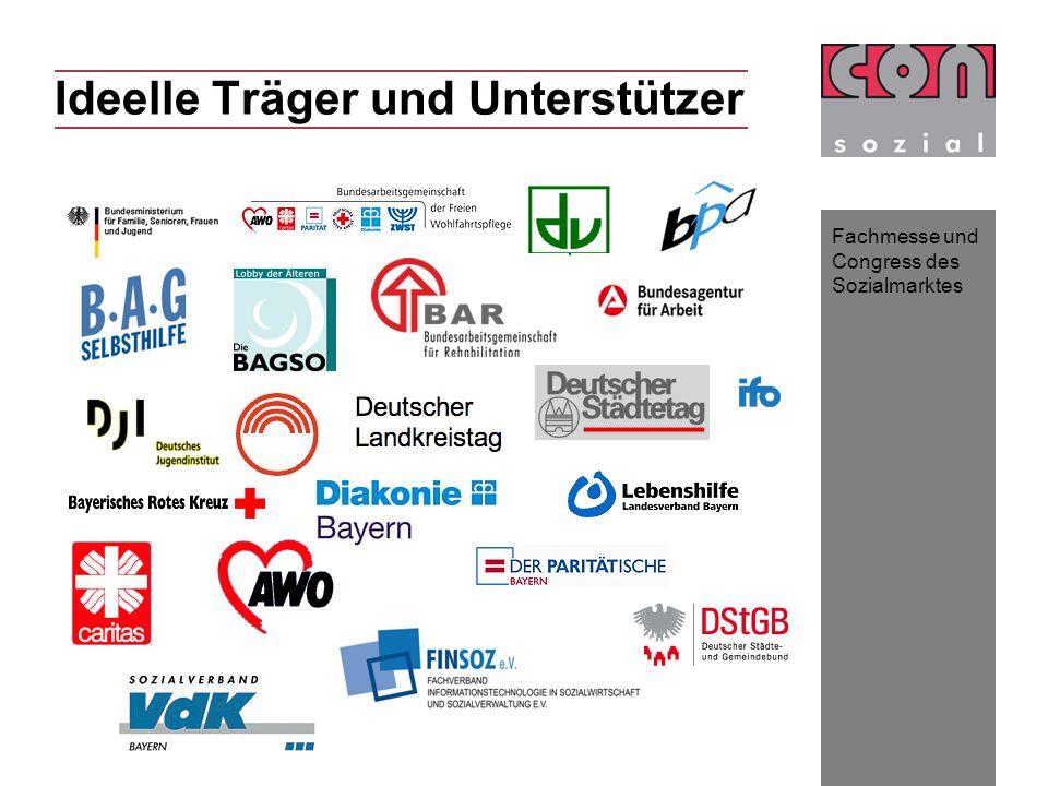 Fachmesse und Congress des Sozialmarktes Ideelle Träger und Unterstützer