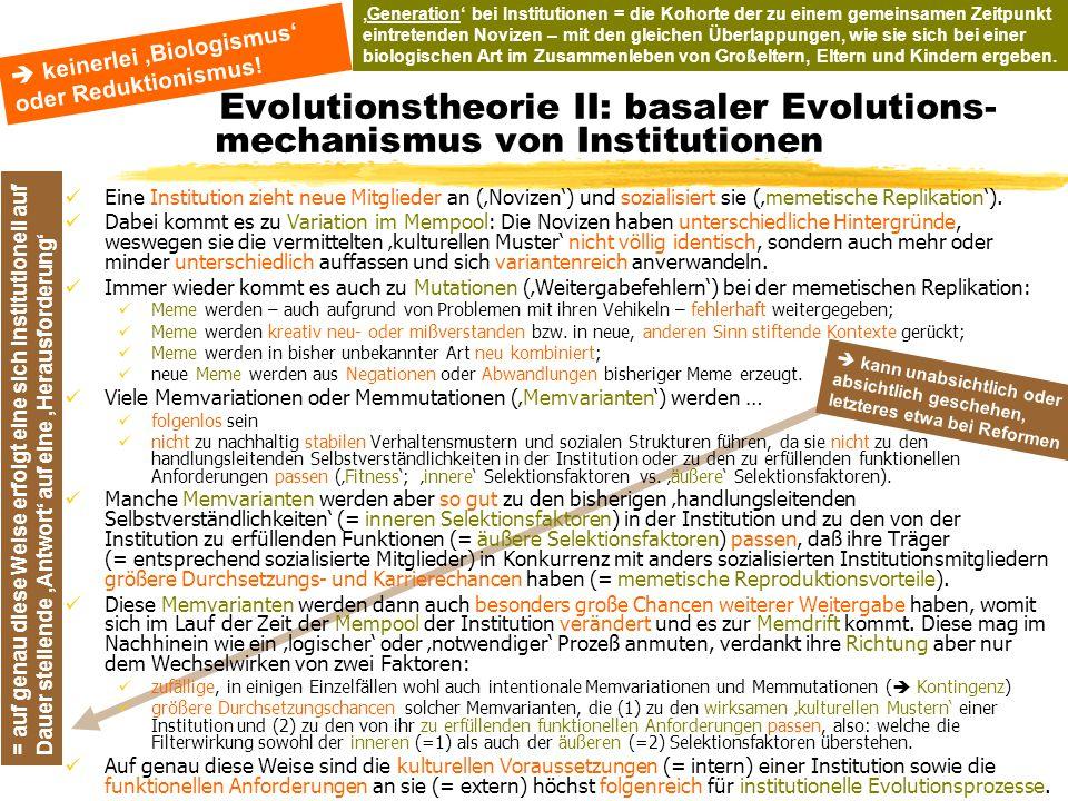 TU Dresden – Institut für Politikwissenschaft – Prof. Dr. Werner J. Patzelt = auf genau diese Weise erfolgt eine sich institutionell auf Dauer stellen