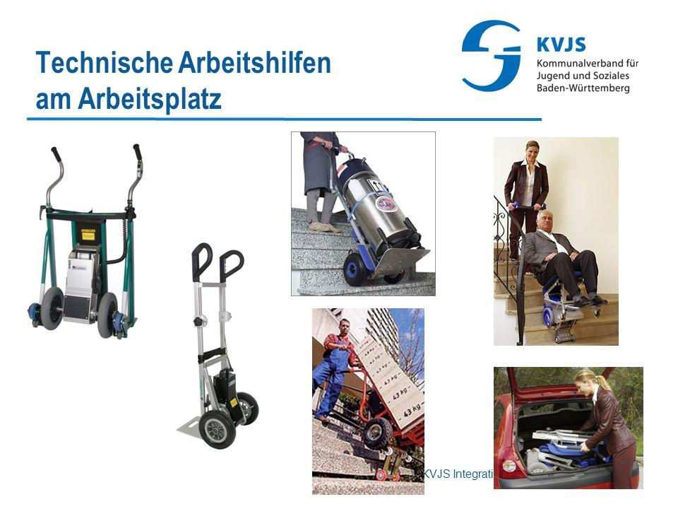KVJS Integrationsamt Baden-Württemberg Technische Arbeitshilfen am Arbeitsplatz