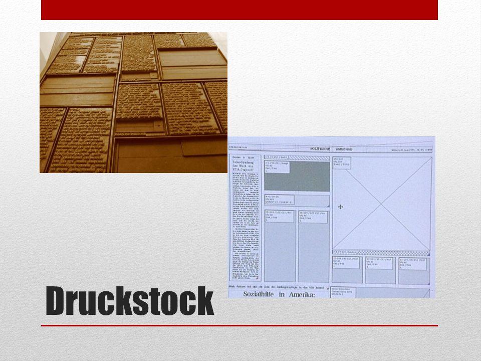 Druckstock