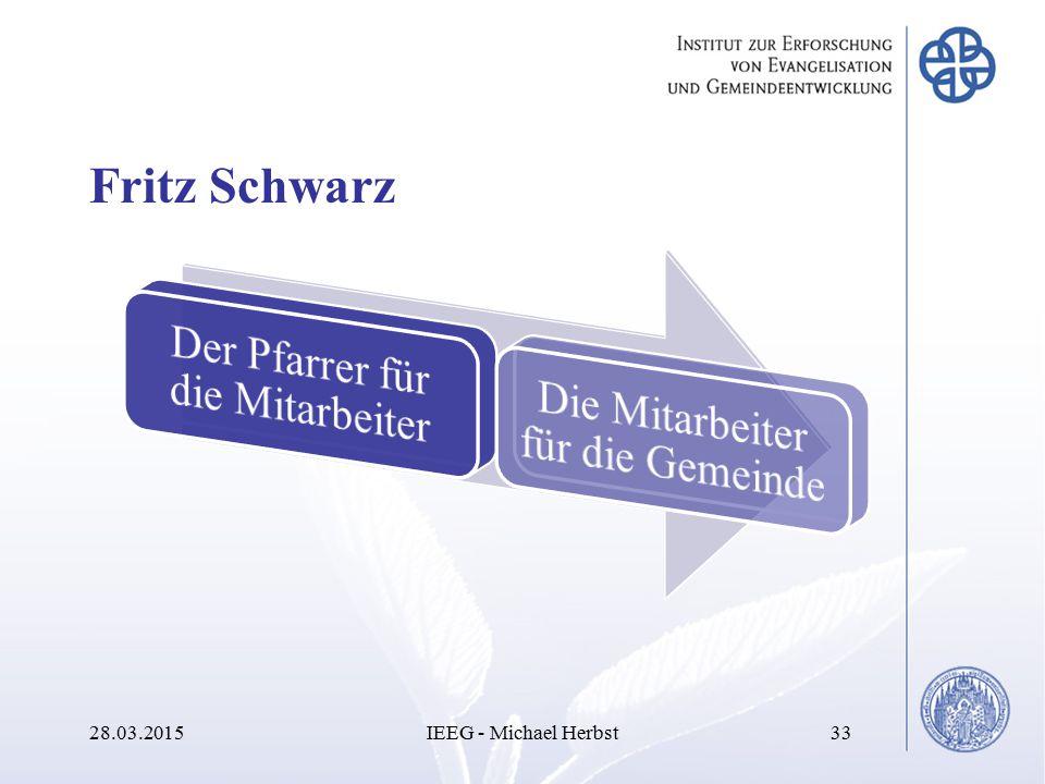 Fritz Schwarz 28.03.2015IEEG - Michael Herbst33