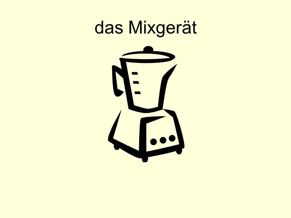 das Mixgerät