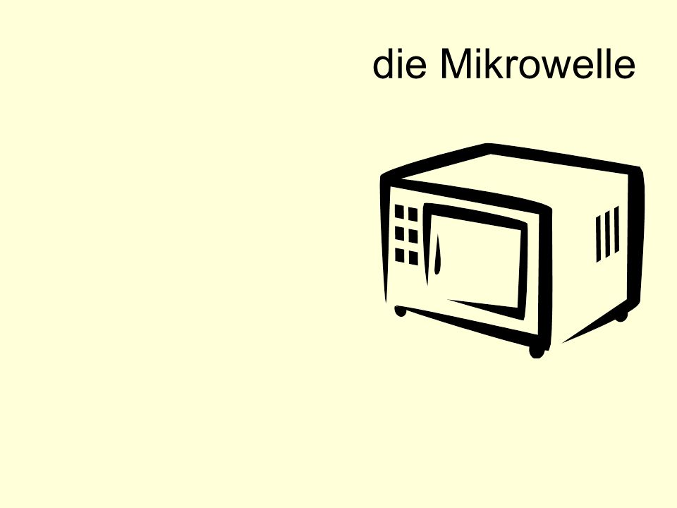 die Mikrowelle