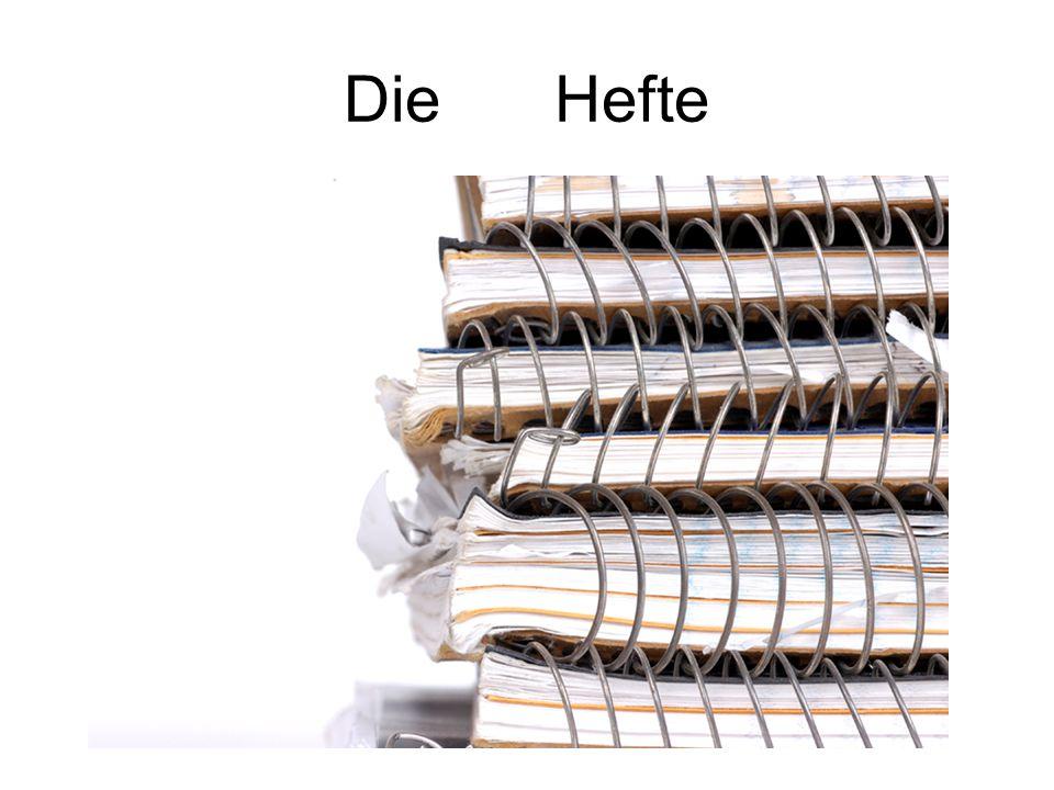 Die Hefte