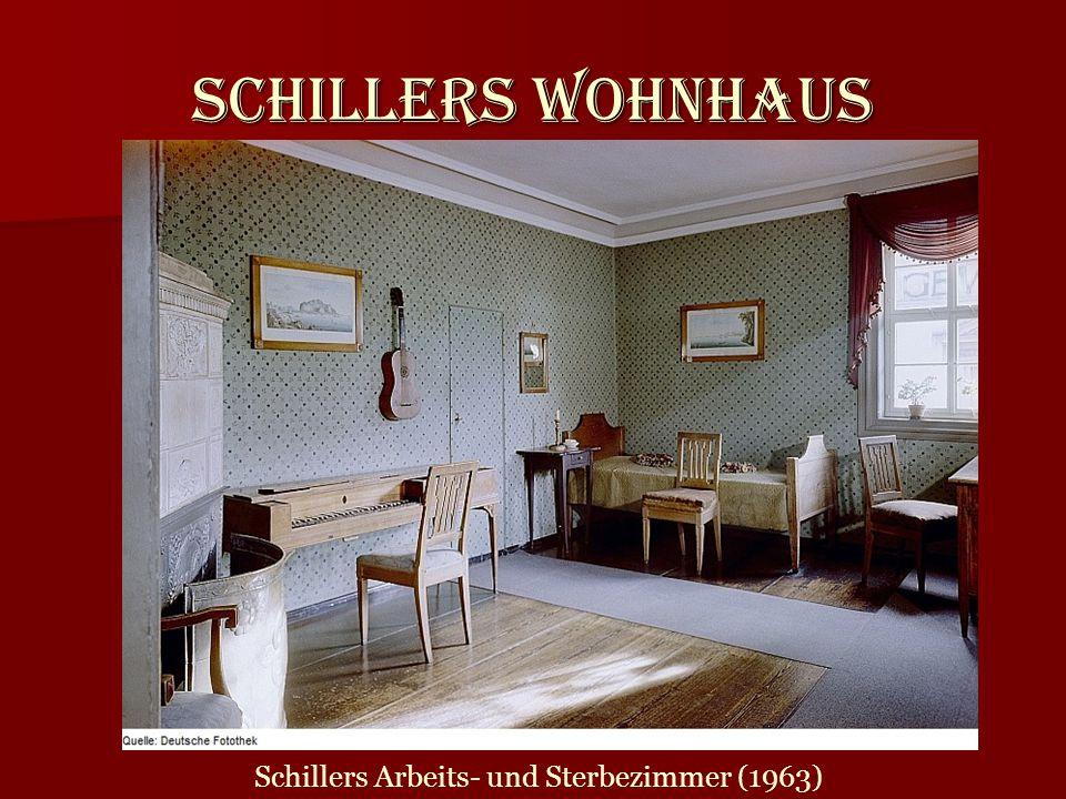 Schillers Wohnhaus Schillers Arbeits- und Sterbezimmer (1963)