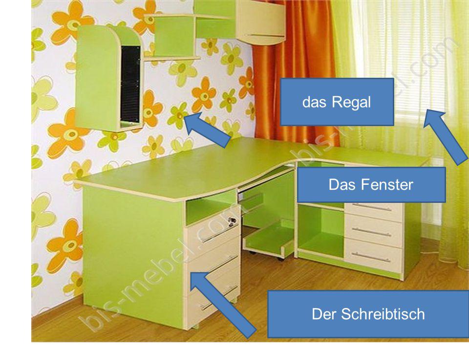 das Regal Das Fenster Der Schreibtisch