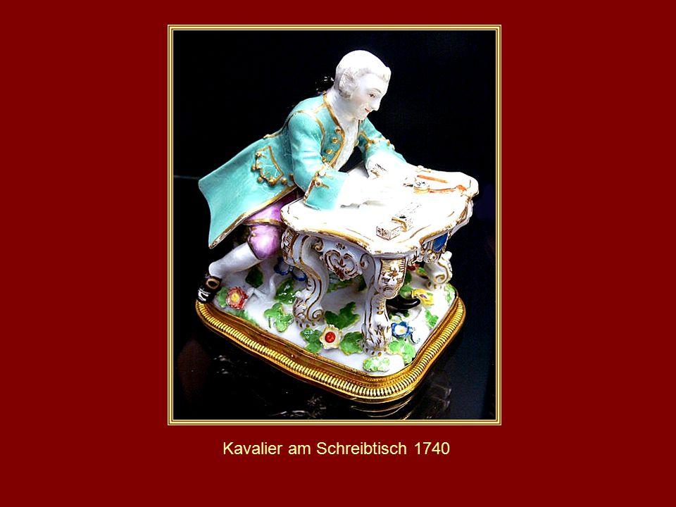 Kavalier am Schreibtisch 1740