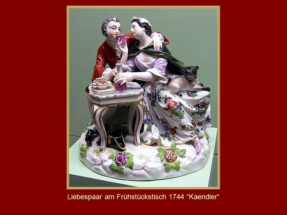 Liebespaar am Frühstückstisch 1744 Kaendler
