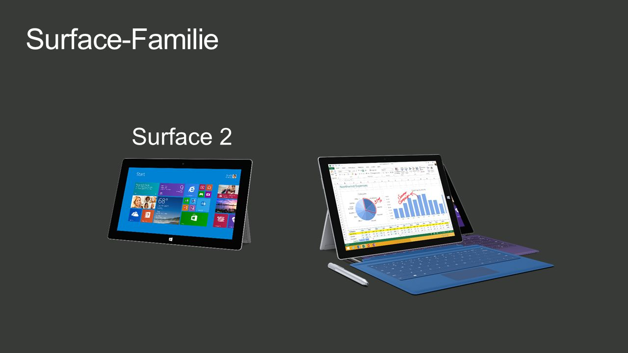 Surface-Familie Surface 2