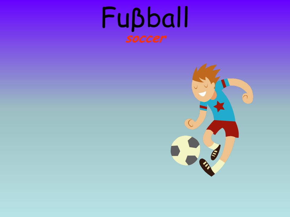 soccer Fuβball