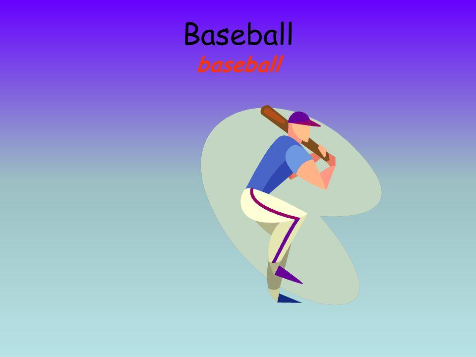 Baseball baseball