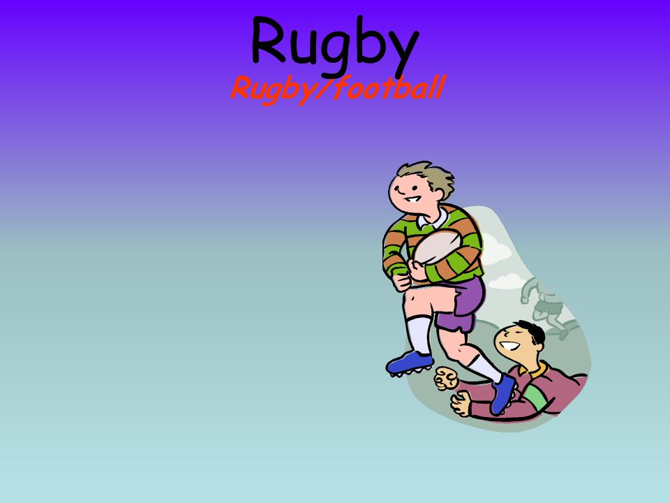 Rugby/football Rugby