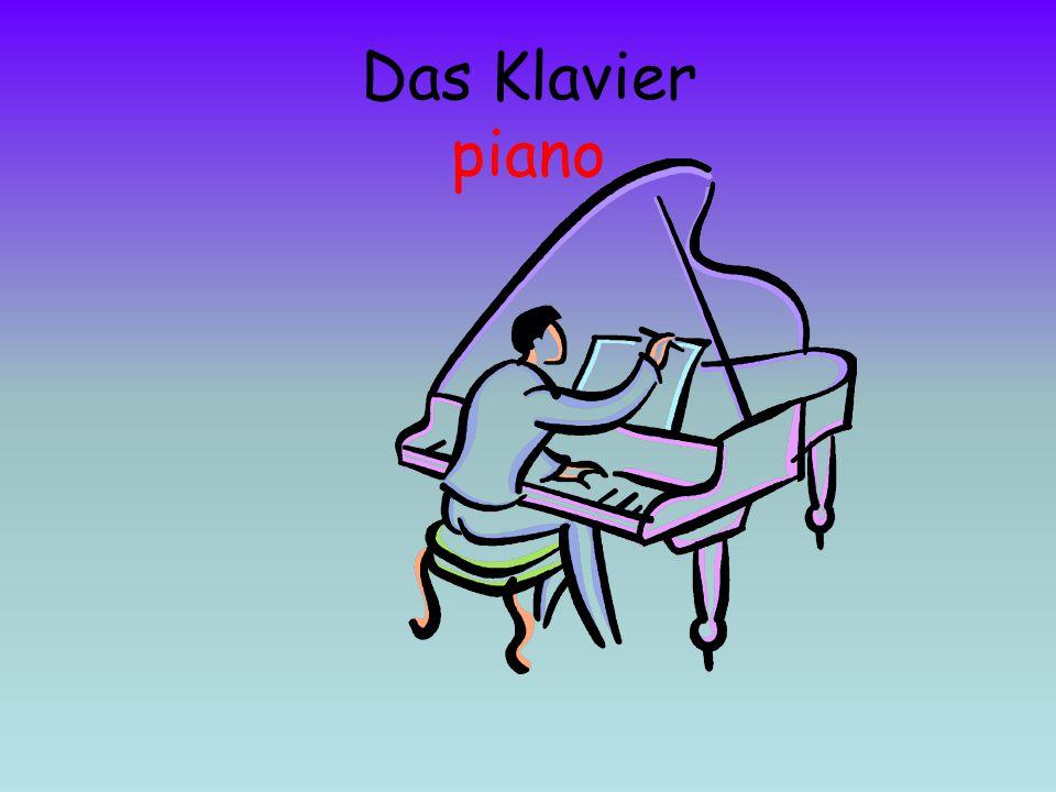 Das Klavier piano