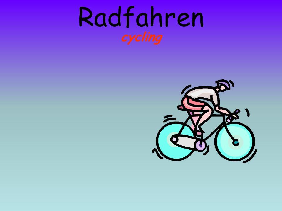 cycling Radfahren