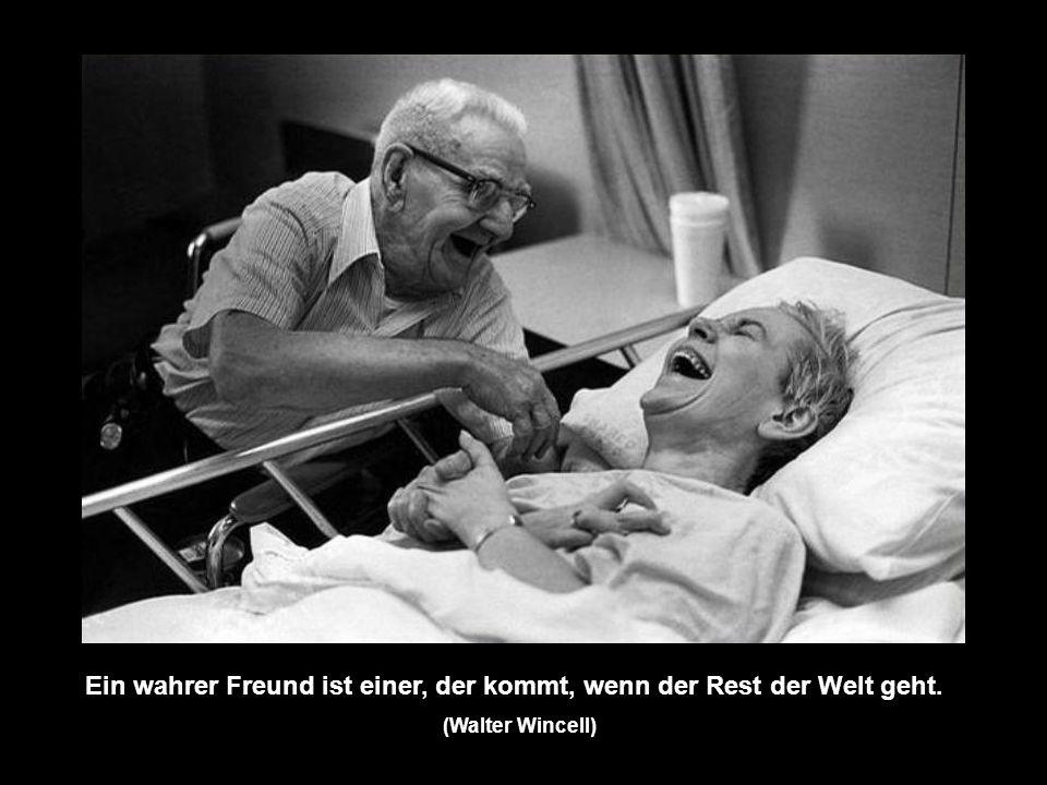 Ein bisschen Freundschaft ist mir mehr wert, als die Bewunderung der ganzen Welt. (Otto von Bismarck)
