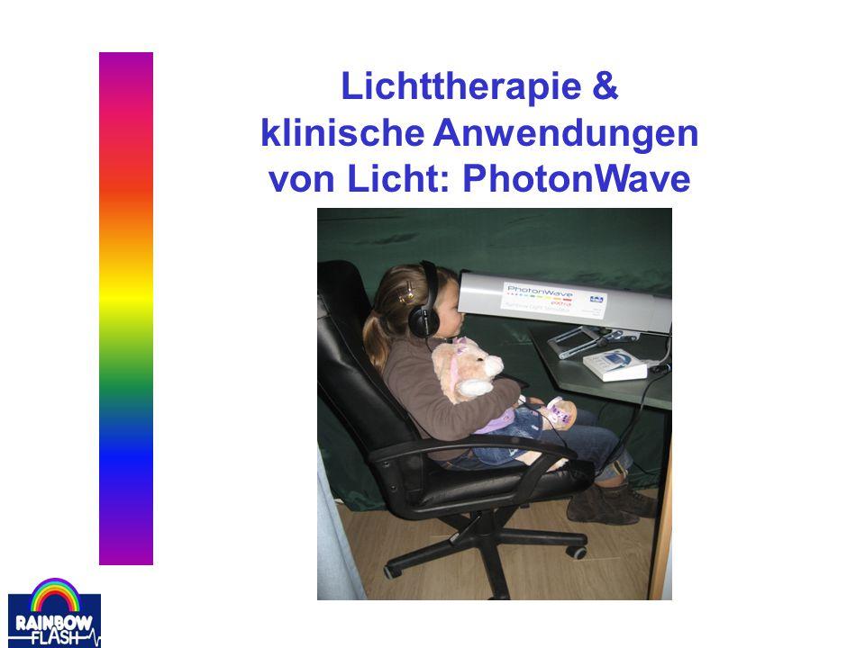 Übersicht Lichtwege und Sehfeld Literatur PhotonWave: –Bei welchen Krankheiten.