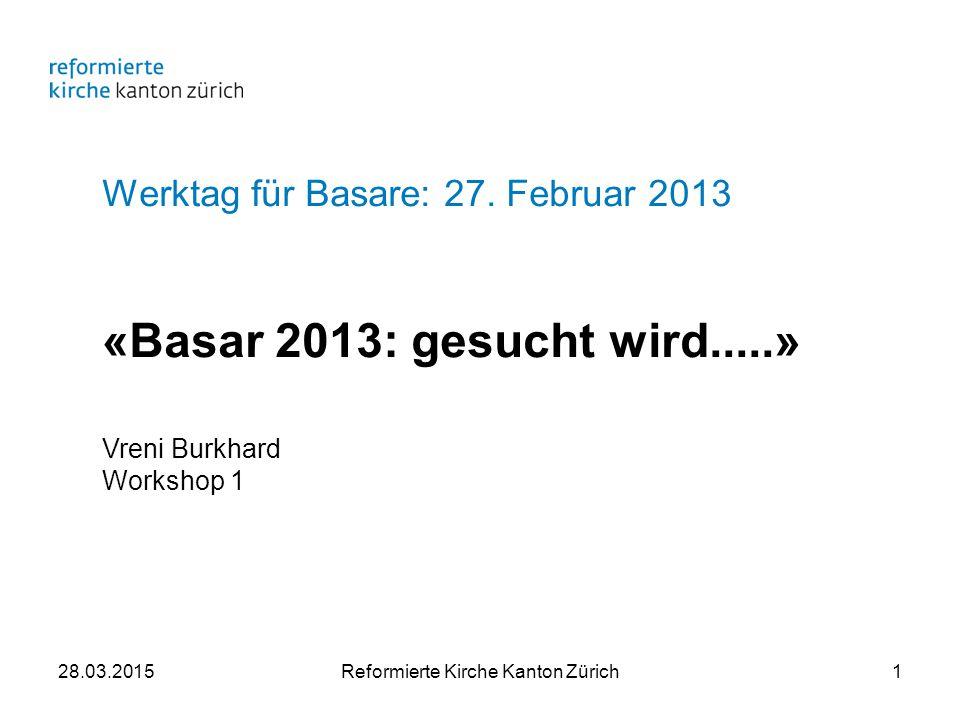 Werktag für Basare: 27.