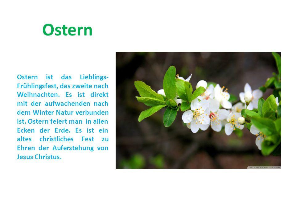 Die Bedeutung des Wortes «Ostern wird unterschiedlich interpretiert.