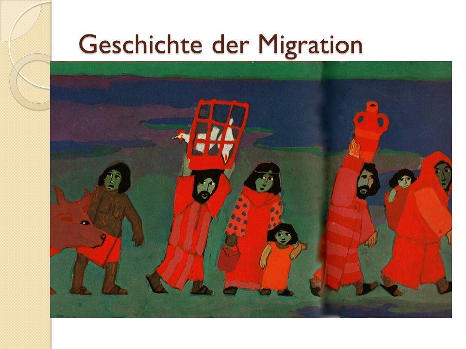 Geschichte der Migration