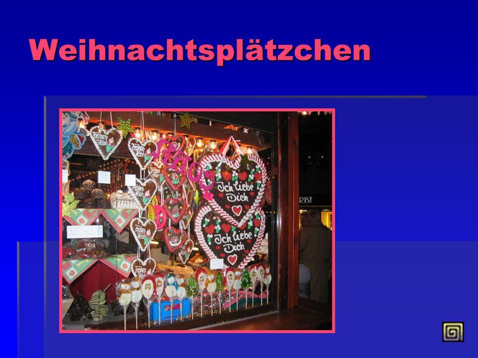 Der Weihnachtsmann Am 24. Dezember kommt der Weihnachtsmann mit Geschenken. Die Kinder sagen dem Weihnachtsmann Gedichte, singen Lieder vor und bekomm