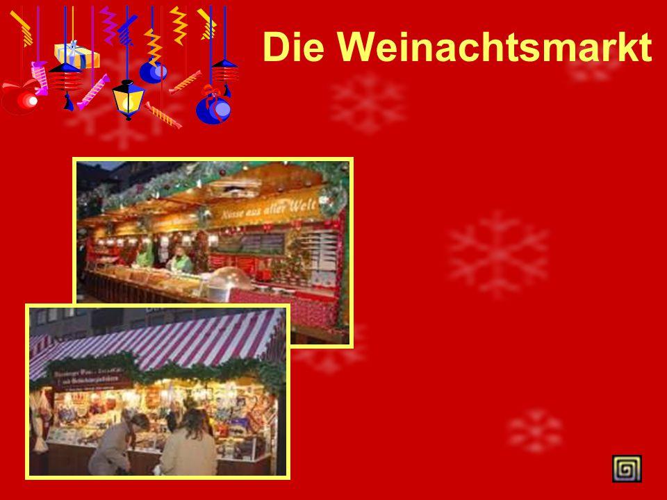 Weihnachtskalender Im Dezember gibt es viele Feiertage. Am 6. Dezember feiert man den Nikolaustag Am 24.Dezember ist der Heiligabend.