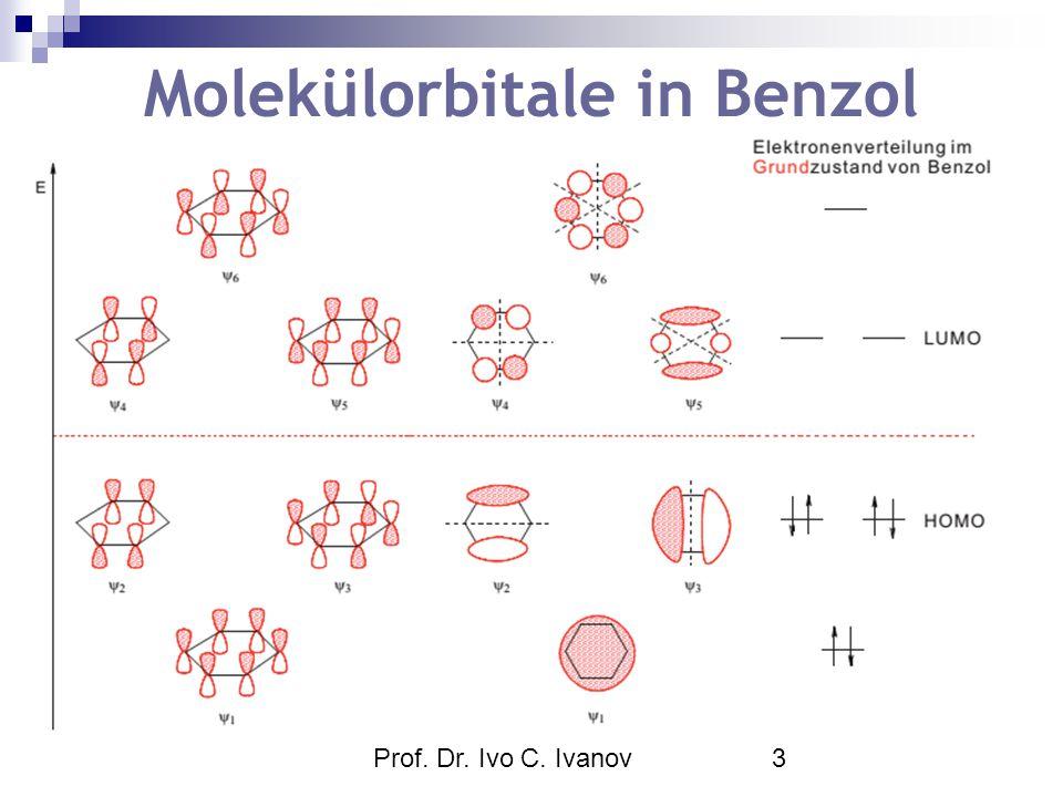 Prof. Dr. Ivo C. Ivanov3 Molekülorbitale in Benzol