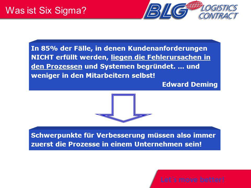 Six Sigma ist eine umfassende Problemlösungsmethode, die Unternehmen dabei unterstützt, Entscheidungen auf der Grundlage messbarer Kriterien zu treffen und damit die Kundenzufriedenheit signifikant zu steigern und die Kosten nachhaltig zu senken.