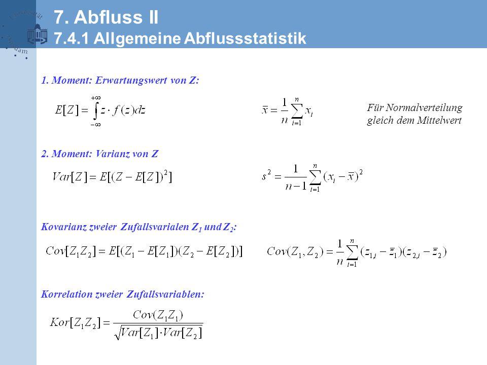 Gleiche Varianz, unterschiedliche Mittelwerte Gleiche Mittelwerte unterschiedliche Varianz 7.