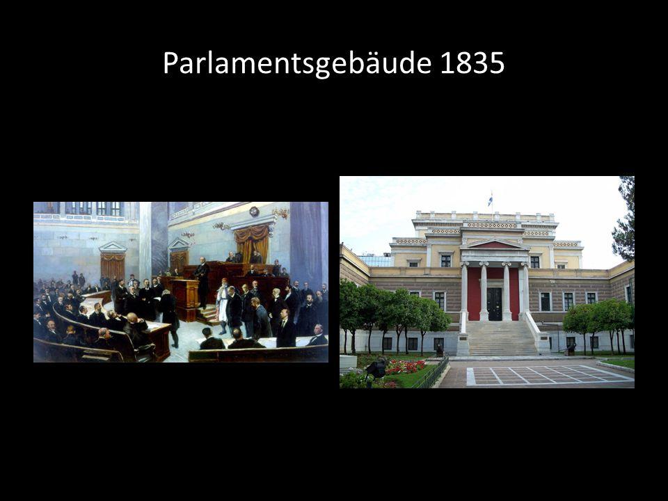 Parlamentsgebäude 1835