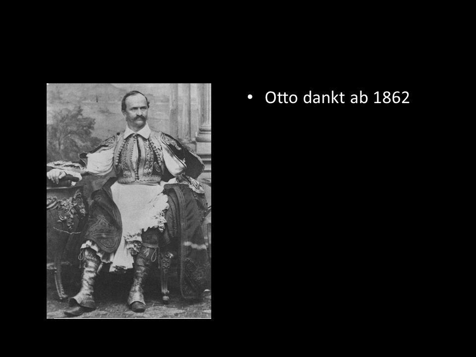 Otto dankt ab 1862