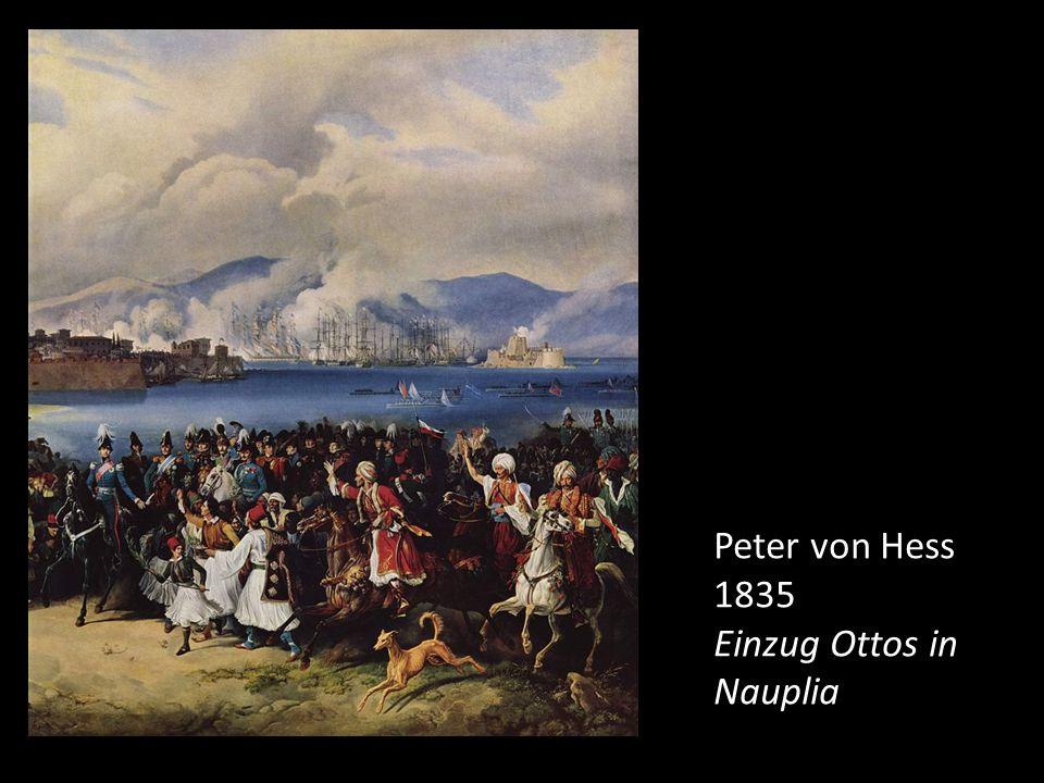Kreta Aufstand 1841 Großbritannien blockiert den Hafen von Piräus.