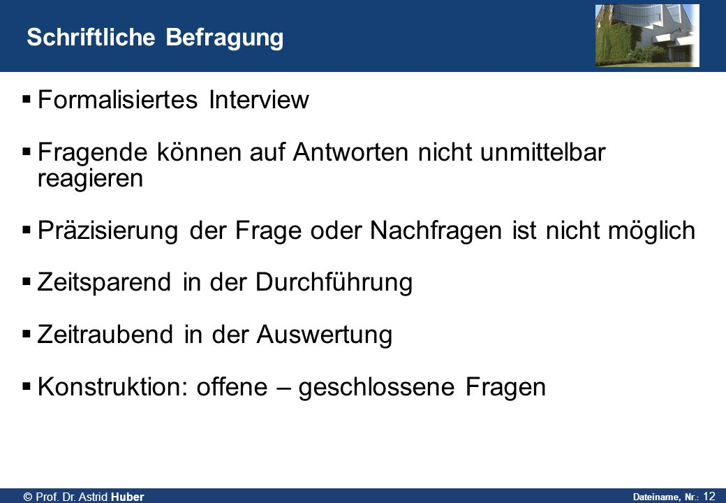 Dateiname, Nr.: 12 © Prof.Dr.