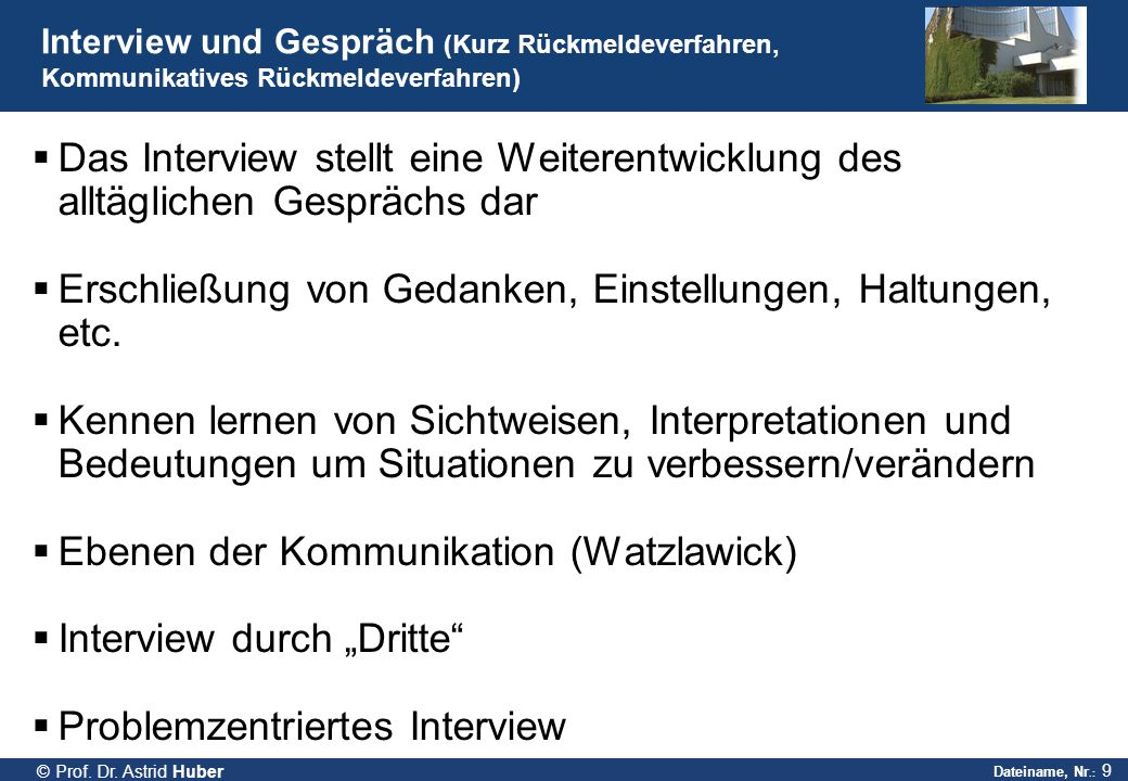 Dateiname, Nr.: 9 © Prof.Dr.